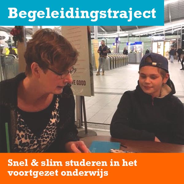 Begeleiding van een brugklasser door Ilse Reijgwart van Wijkunenmeer
